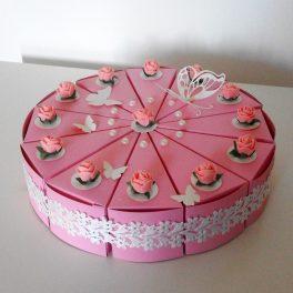 торта от хартия