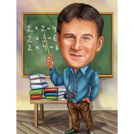 карикатура за учител