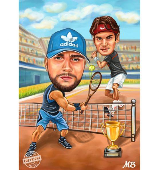 Карикатура спорт