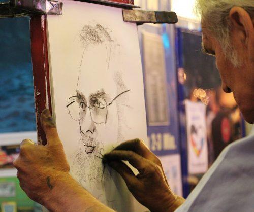 лице рисунка